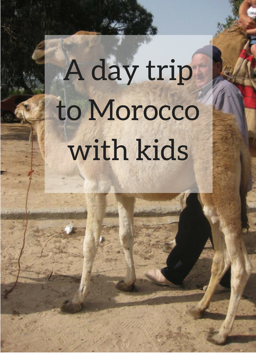 A day trip to Morocco with kids. Copyright Gretta Schifano