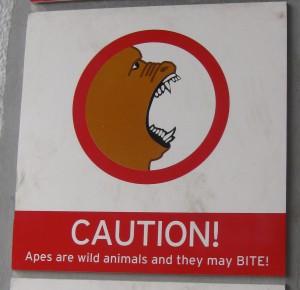 sign in Gibraltar