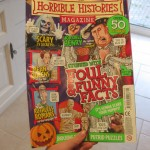 horrible histories magazine issue 1