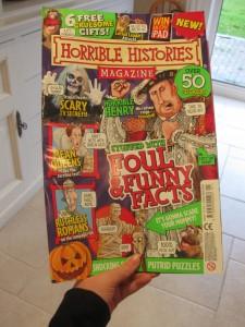 horrible histories magazine issue 1