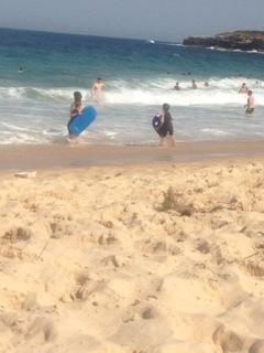Kids surfing, Sydney. Copyright Amanda Ansell