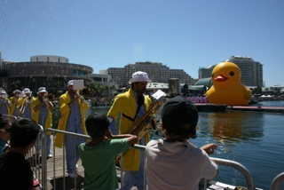 Australia Day, Darling Harbour, Sydney. Copyright Amanda Ansell