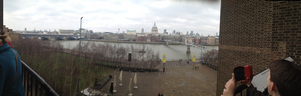 View from Tate Modern. Copyright Gretta Schifano