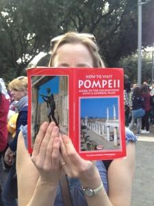 Visiting Pompeii. Copyright Gretta Schifano