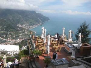 View from Palazzo Avino, Ravello