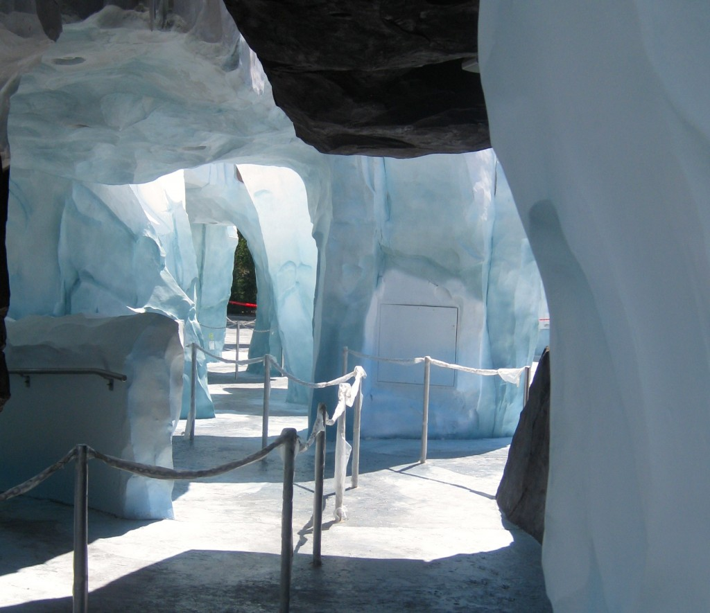 Entrance to Antarctica- Empire of the Penguin. Copyright Gretta Schifano