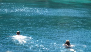 Swimming at Cap de Creus. Copyright Gretta Schifano