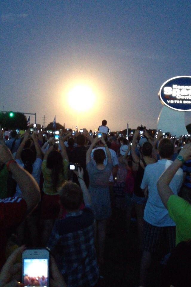 Kennedy Space Center rocket launch