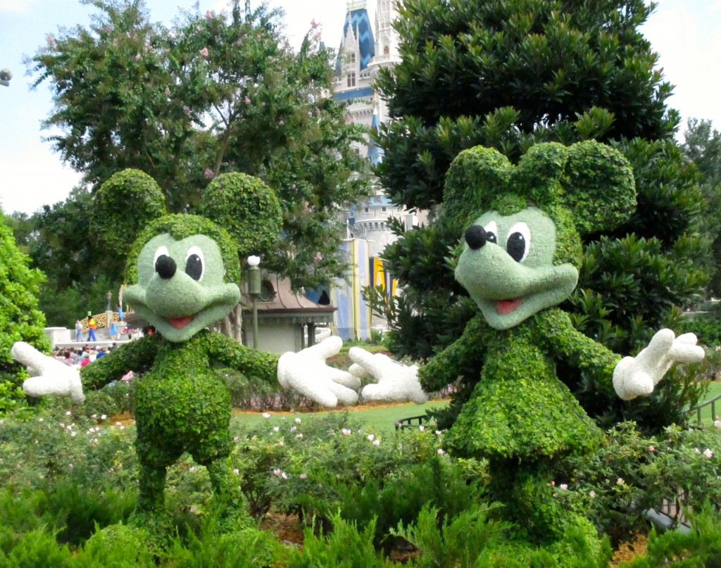 Mickey & Minnie, Disney's Magic Kingdom. Copyright Gretta Schifano