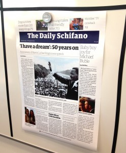 The Daily Schifano. Copyright Gretta Schifano