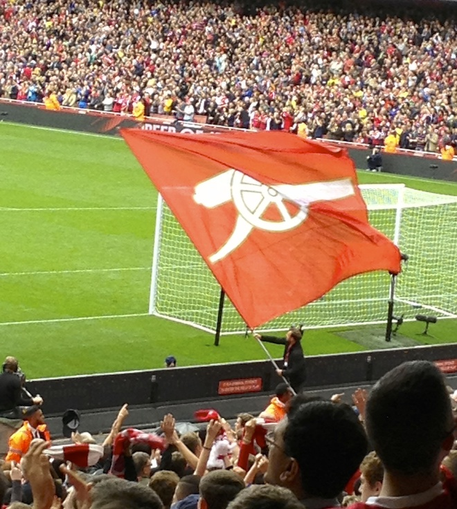 Arsenal v Stoke. Copyright Gretta Schifano