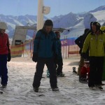 Go Ski Go Board skiing lesson. Copyright racer-ready.co.uk