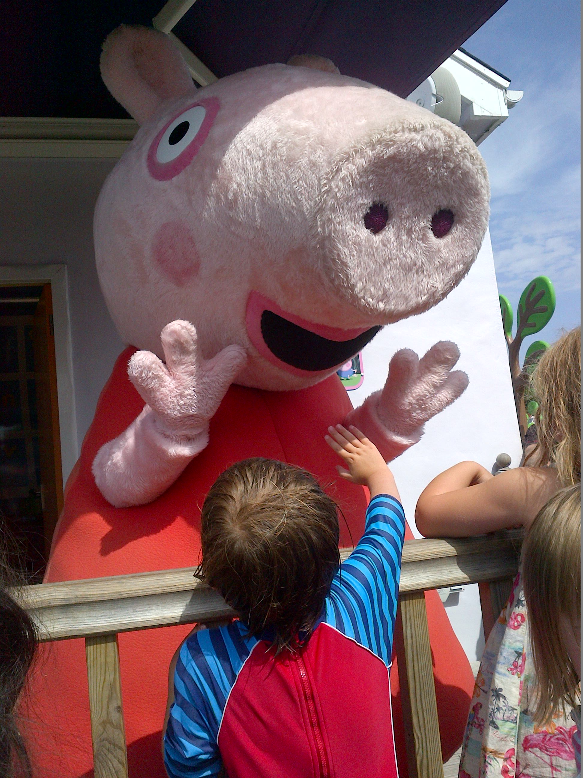 Peppa Pig World. Copyright Kate Milner