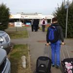 Manston Airport car park