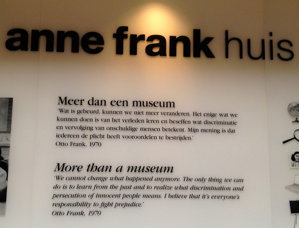 Quote from Otto Frank.