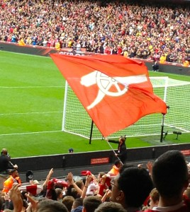 Emirates Stadium 22.9.13. Copyright Gretta Schifano.