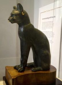 Gayer-Anderson cat, British Museum. Copyright Gretta Schifano