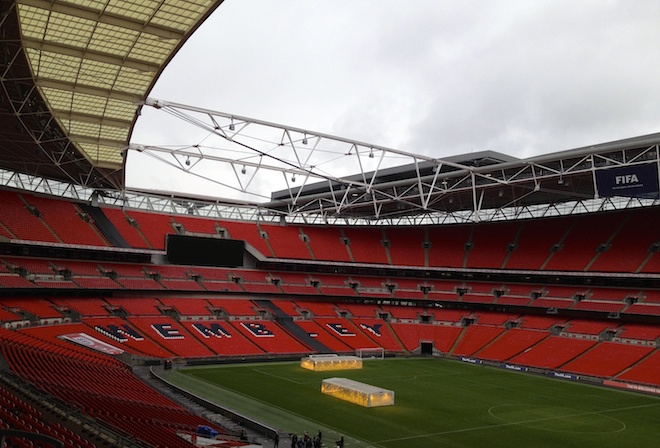 Wembley. Copyright Gretta Schifano
