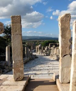 Ephesus. Copyright Gretta Schifano