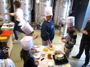 Cooking with Jordi Castello. Copyright Gretta Schifano