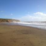 Yaverland beach, Isle of Wight. Copyright Gretta Schifano