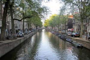 Prinsengracht Amsterdam. Copyright Gretta Schifano