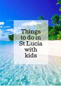 Things to do in St Lucia with kids. Copyright Gretta Schifano