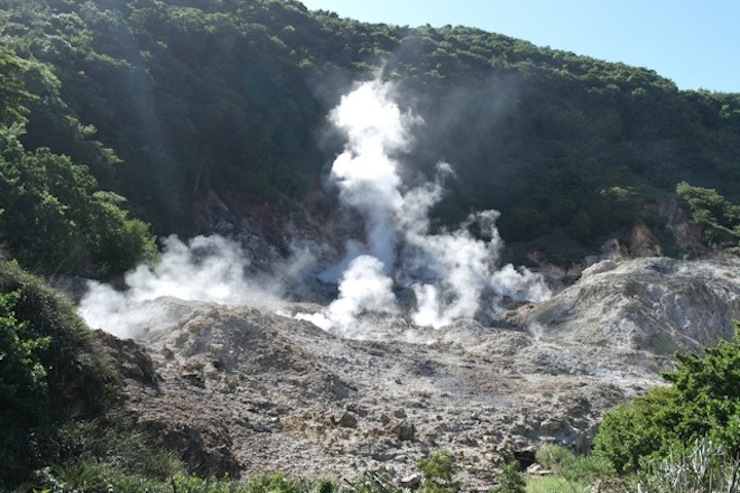 Volcano, St Lucia. Copyright Sharmeen Ziauddin