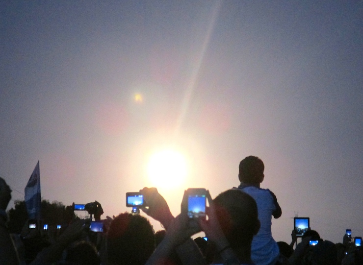 Rocket Launch at Kennedy Space Center. Copyright Gretta Schifano