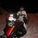 Snowmobiling in Madesimo. Copyright Gretta Schifano