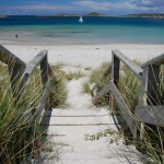 Tresco beach, Isles of Scilly. Copyright Peter Kiss