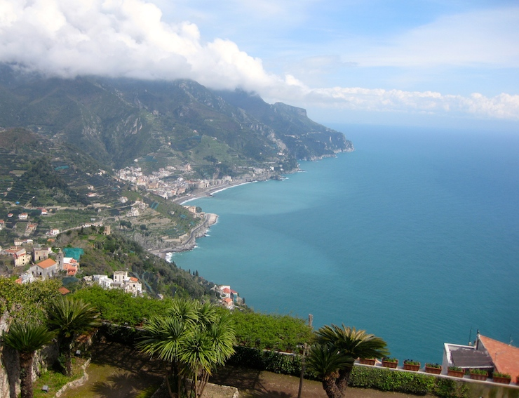 View from Ravello. Copyright Gretta Schifano
