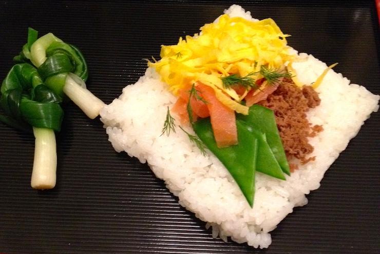 Atsuko's Kyushu regional dish. Copyright Gretta Schifano