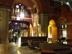 St Pancras Renaissance Hotel. Copyright Gretta Schifano