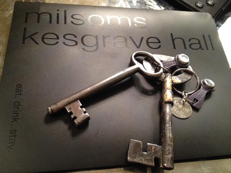 Kesgrave Hall keys. Copyright Gretta Schifano