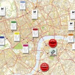 London Honkopoly route for Sport Relief
