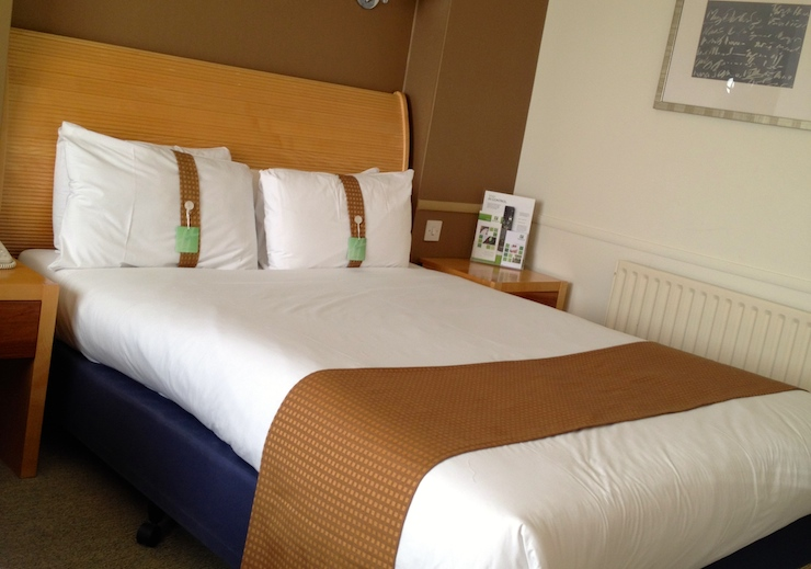 Holiday Inn Cambridge, Executive room. Copyright Gretta Schifano