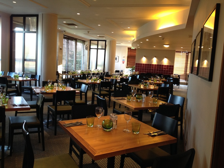 Holiday Inn Cambridge restaurant. Copyright Gretta Schifano