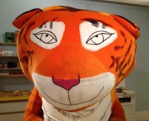 Tiger, Seven Stories, Newcastle. Copyright Gretta Schifano