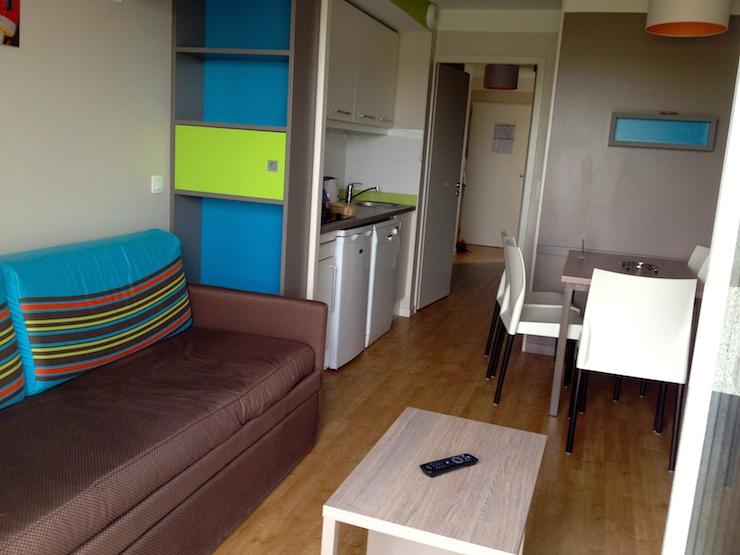 Apartment at Résidences le Chant des Oiseaux. Copyright Gretta Schifano