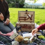 Picnic in the garden. Copyright Gretta Schifano