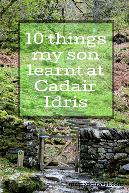 Cadair Idris is one of the highest mountains in Snowdonia in Wales. It's a beautiful area to explore and great for walking. Here are 10 things which my son learnt when we hiked on this mountain.
