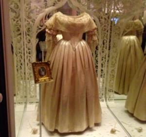 Queen Victoria's wedding dress. Copyright Gretta Schifano