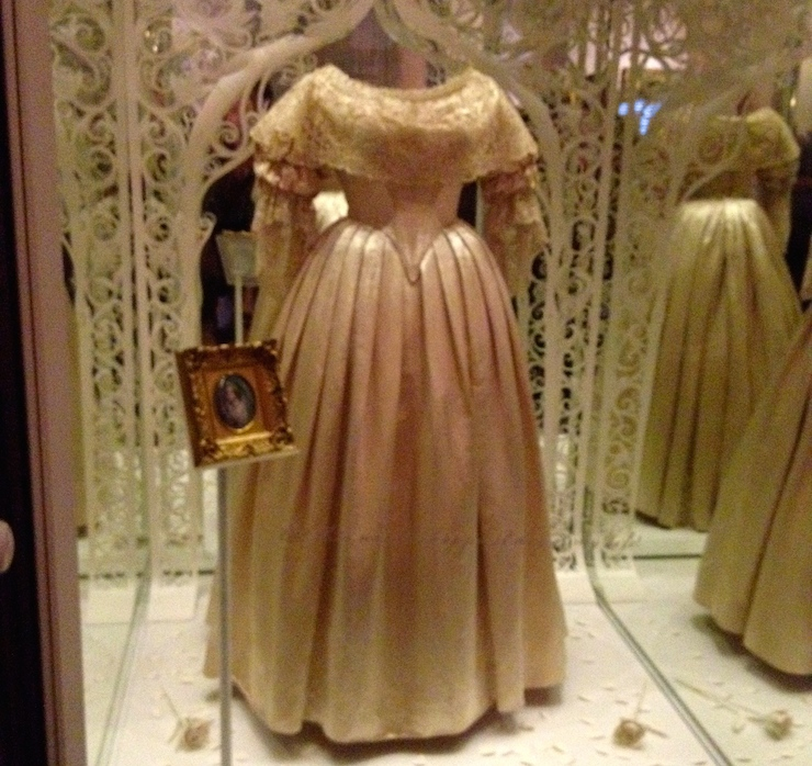 Queen Victoria's wedding dress. Copyright Gretta Schifano