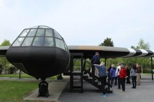 Replica glider, Pegasus Bridge Memorial. Copyright Gretta Schifano