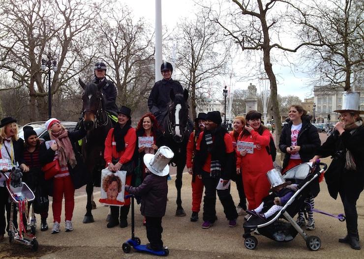 Team Honk relay - London. Copyright Gretta Schifano