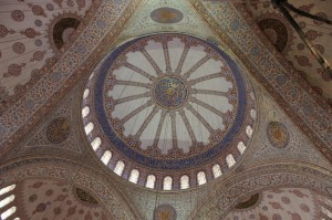 Blue Mosque, Istanbul. Copyright Gretta Schifano