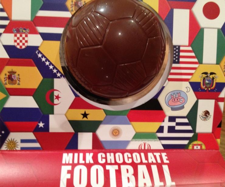 Chocolate football