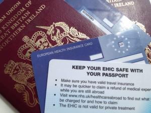 Passports & EHIC. Copyright Gretta Schifano