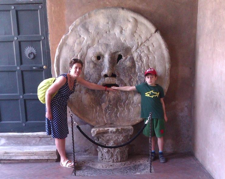 Bocca della Verità, Rome. Image courtesy of Lorenza Bacino